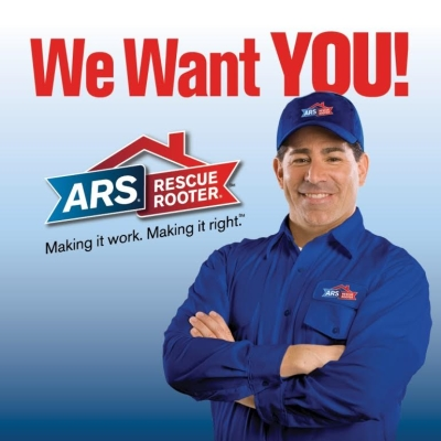 ARS Rescue Rooter Recruitment poster